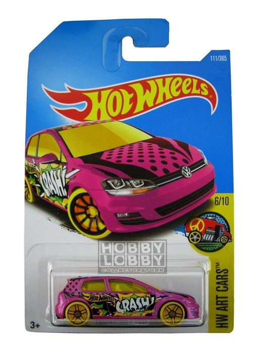 Hot Wheels - Coleção 2017 - Volkswagen Golf MK7