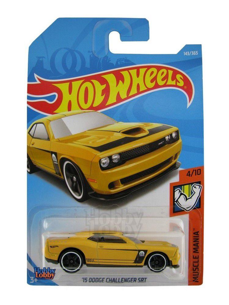 Hot Wheels - Coleção 2018 - Dodge Challeger SRT [2015]  - Hobby Lobby CollectorStore