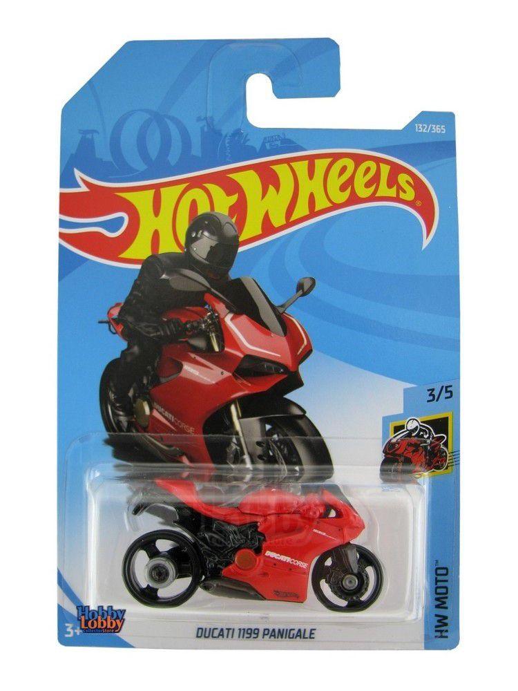 Hot Wheels - Coleção 2018 - Ducatti 1199 Panigale  - Hobby Lobby CollectorStore