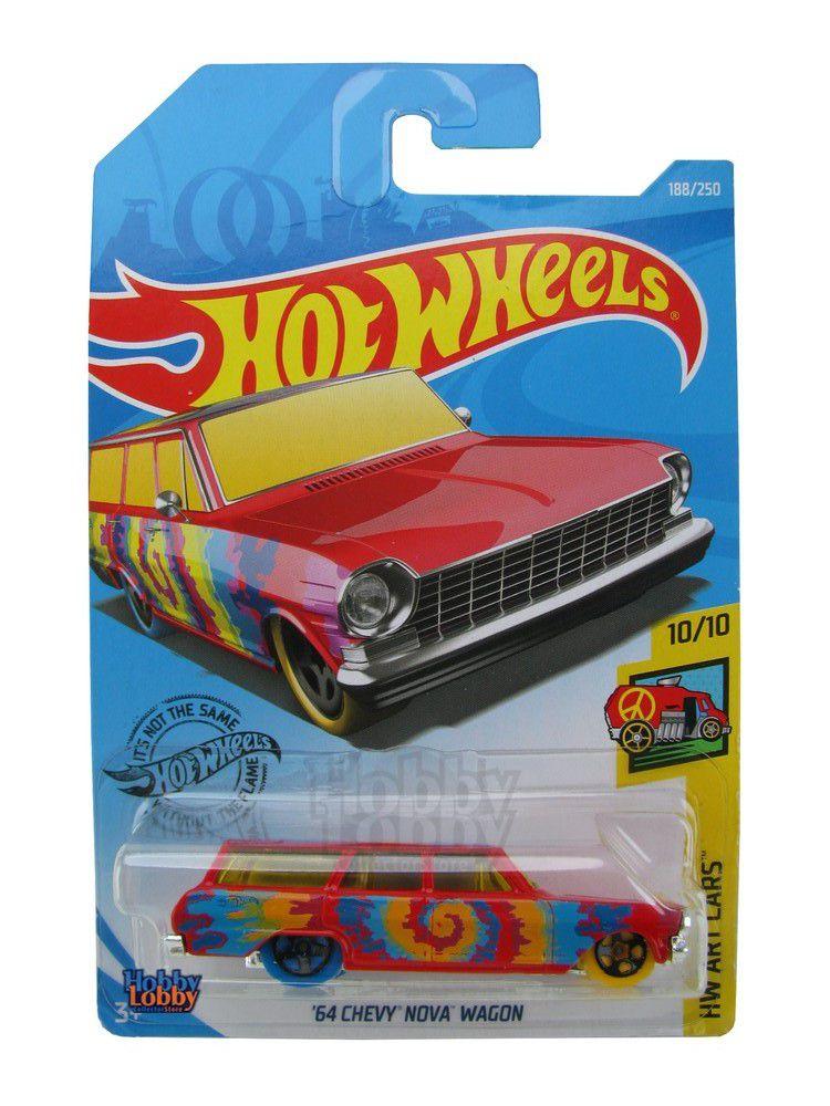 Hot Wheels - Coleção 2019 - ´64 Chevy Nova Wagon