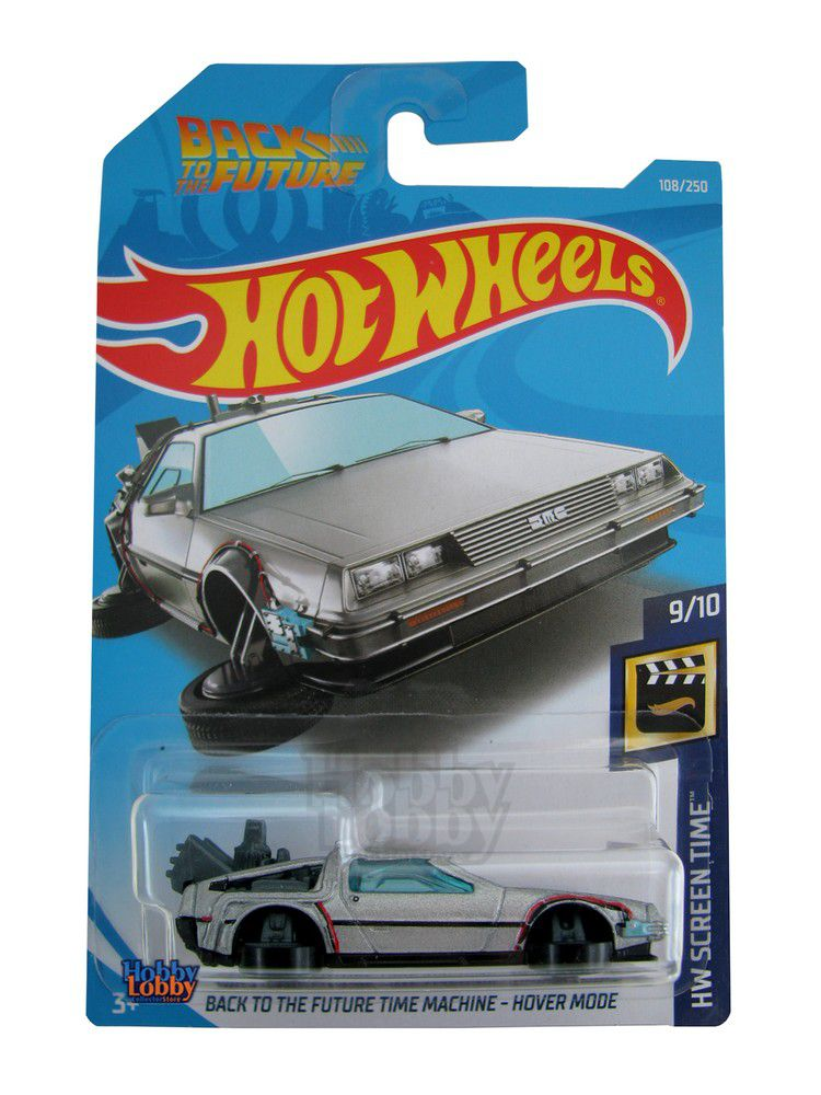 Hot Wheels - Coleção 2019 - Back to the Future Time Machine - Hover Mode