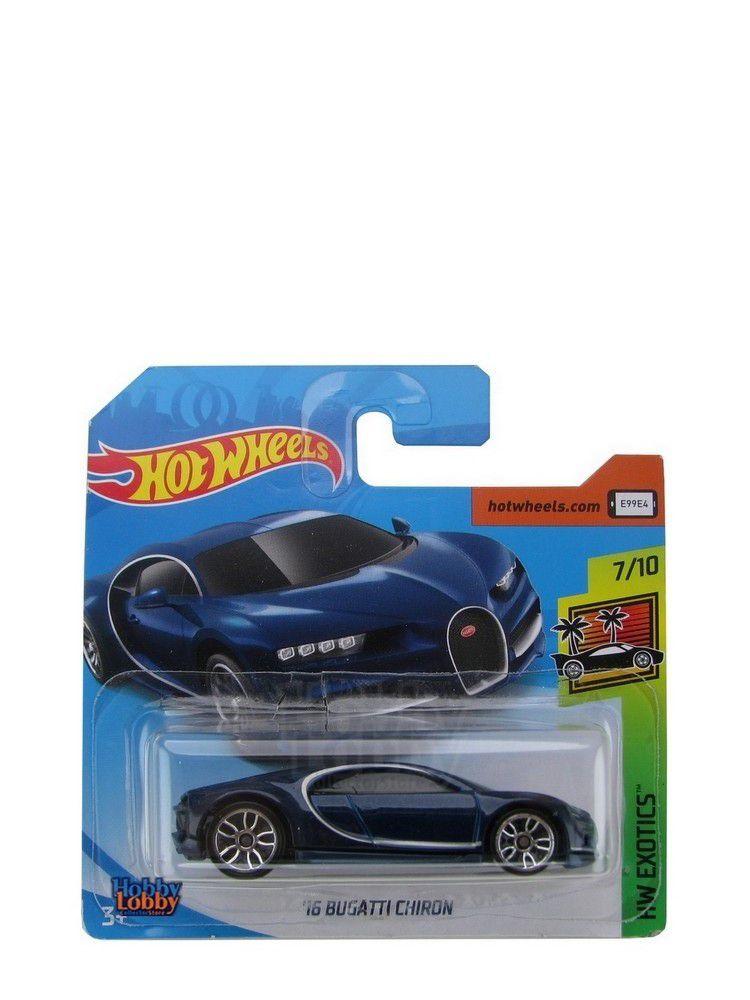 Hot Wheels - Coleção 2019 - Bugatti Chiron 2016