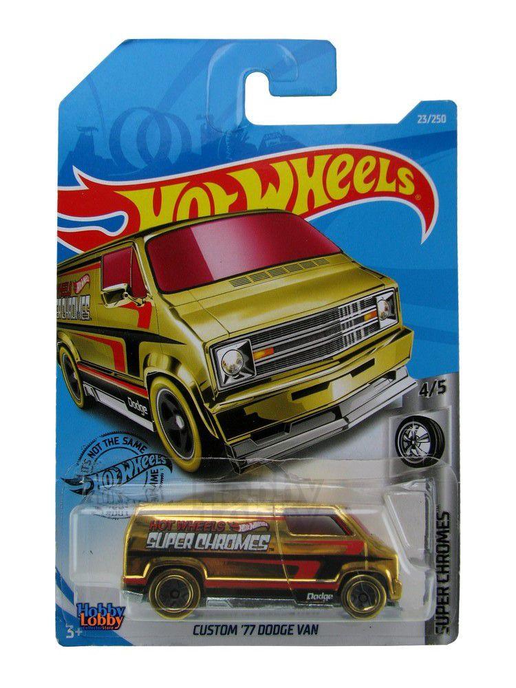 Hot Wheels - Coleção 2019 - Custom ´77 Dodge Van