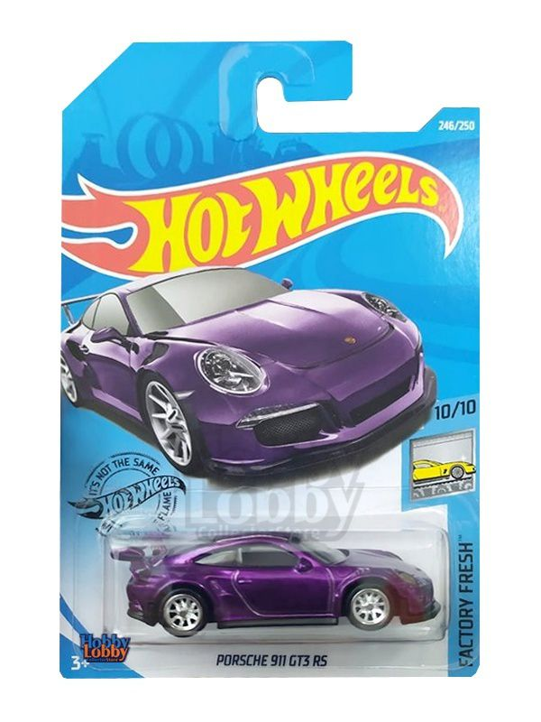 Hot Wheels - Coleção 2019 - Porsche 911 GT3 RS  - Hobby Lobby CollectorStore