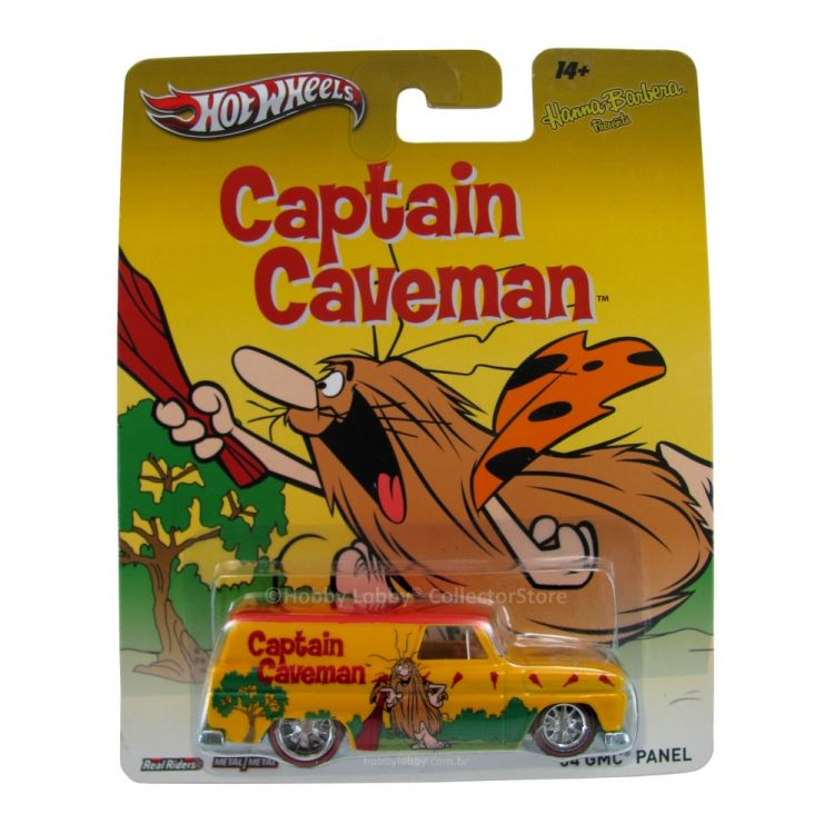 Hot Wheels - Culture Pop 2014 - Hanna-Barbera - Captain Caveman - ´64 GMC Panel