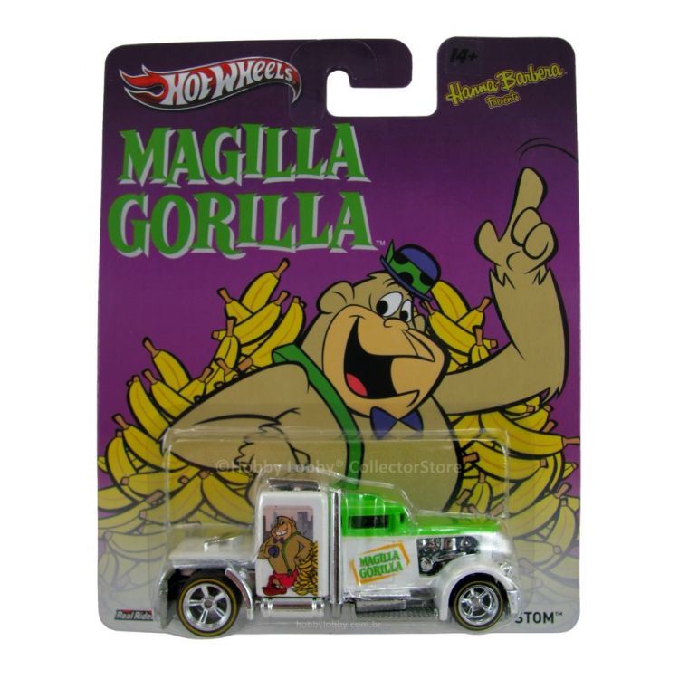 Hot Wheels - Culture Pop 2014 - Hanna-Barbera - Magilla Gorilla - Convoy Custom