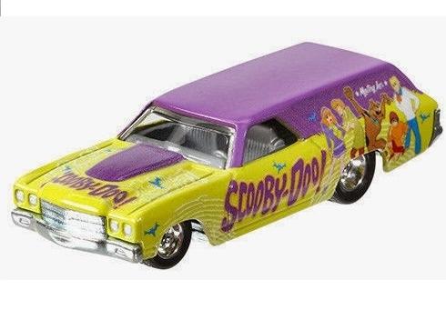 Hot Wheels - Culture Pop 2014 - Hanna-Barbera - Scooby Doo -