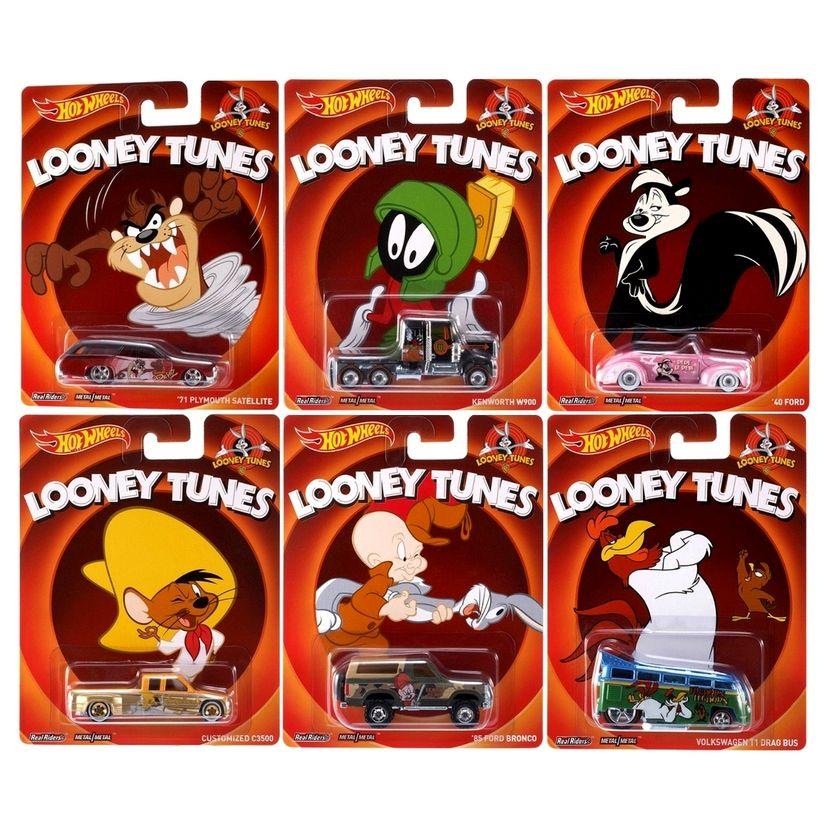 Hot Wheels - Culture Pop 2014 - Looney Tunes - Série Completa
