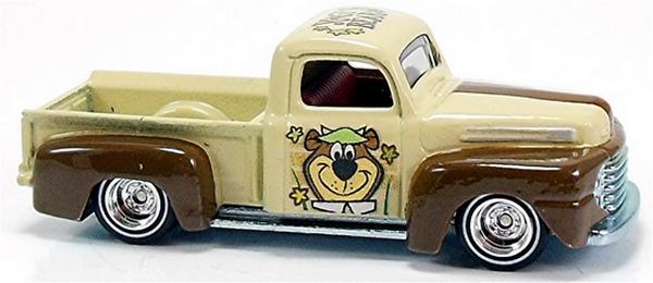 Hot Wheels - Culture Pop 2014 - Hanna-Barbera -  Yogi Bear - ´49 Ford F1  - Hobby Lobby CollectorStore