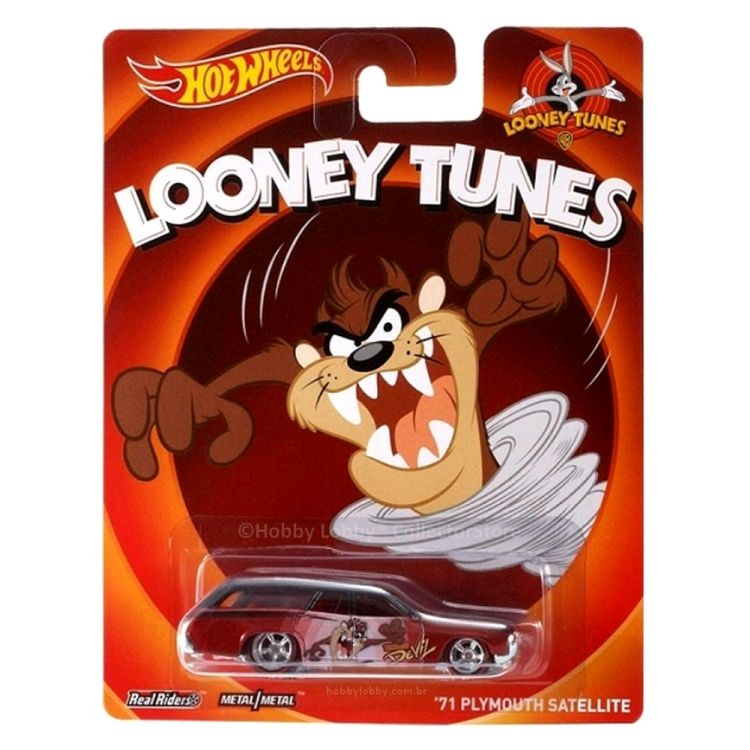 Hot Wheels - Culture Pop - Looney Tunes - ´71 Plymouth Satellite  - Hobby Lobby CollectorStore