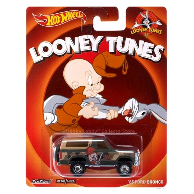 Hot Wheels - Culture Pop - Looney Tunes - ´85 Ford Bronco  - Hobby Lobby CollectorStore