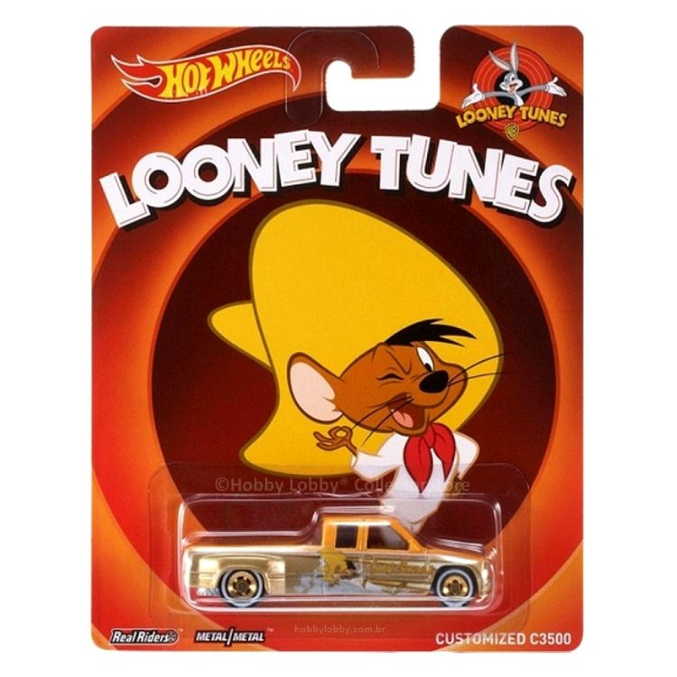Hot Wheels - Culture Pop - Looney Tunes - Customized C3500  - Hobby Lobby CollectorStore