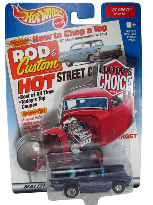 Hot Wheels - Editor´s Choice - ´57 Chevy