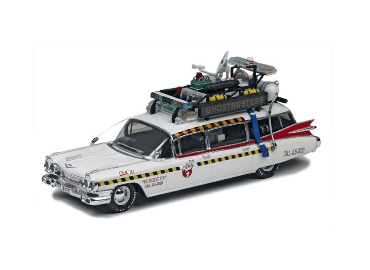 Hot Wheels Elite - Cadillac Ghostbusters - Escala: 1/43