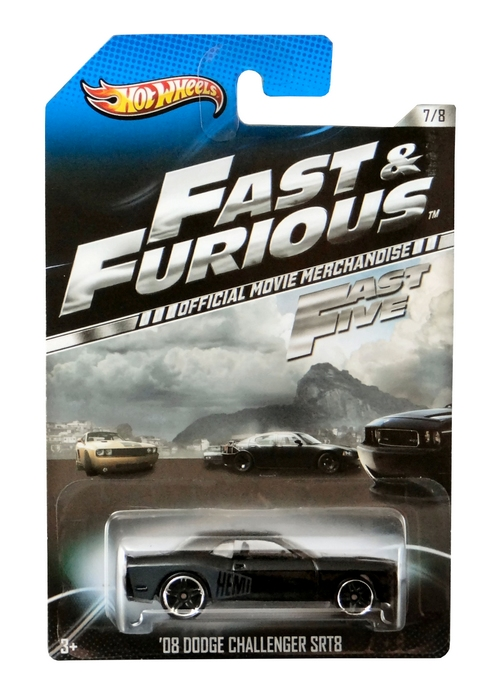 Hot Wheels - Fast & Furious - ´08 Dodge Challenger SRT8  - Hobby Lobby CollectorStore