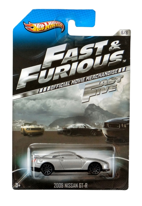 Hot Wheels - Fast & Furious - ´09 Nissan GT-R  - Hobby Lobby CollectorStore