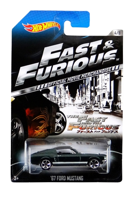 Hot Wheels - Fast & Furious - ´67 Ford Mustang