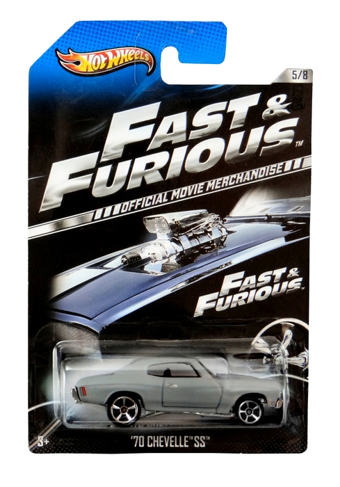 Hot Wheels - Fast & Furious - ´70 Chevelle SS  - Hobby Lobby CollectorStore