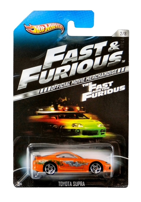 Hot Wheels - Fast & Furious - Toyota Supra  - Hobby Lobby CollectorStore