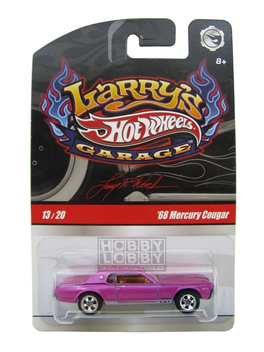 Hot Wheels - Larry´s Garage - ´68 Mercury Cougar
