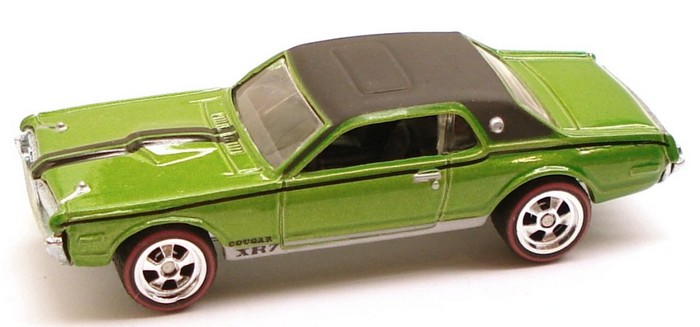 Hot Wheels - Larry´s Garage - ´68 Mercury Cougar [verde]  - Hobby Lobby CollectorStore