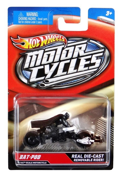 Hot Wheels - Motor Cycles - Bat-Pod