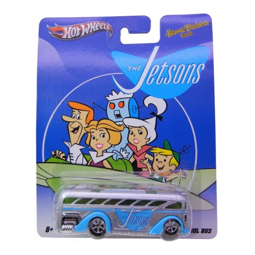 Hot Wheels - Nostalgia 2012 - Hanna-Barbera - The Jetsons - Surfin School Bus  - Hobby Lobby CollectorStore