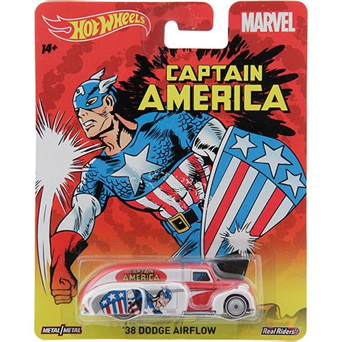 Hot Wheels - 2015 Pop Culture - Marvel - `38 Dodge Airflow