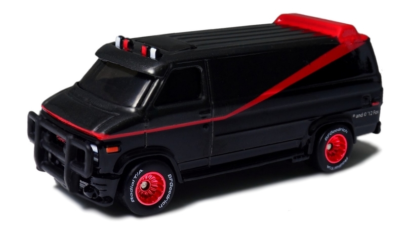 Hot Wheels - Retro Entertainment 2013 - A-Team - Custom GMC Panel Van  - Hobby Lobby CollectorStore