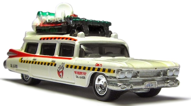 Hot Wheels - Retro Entertainment 2014 - Ghostbuster II - ECTO-1A  - Hobby Lobby CollectorStore