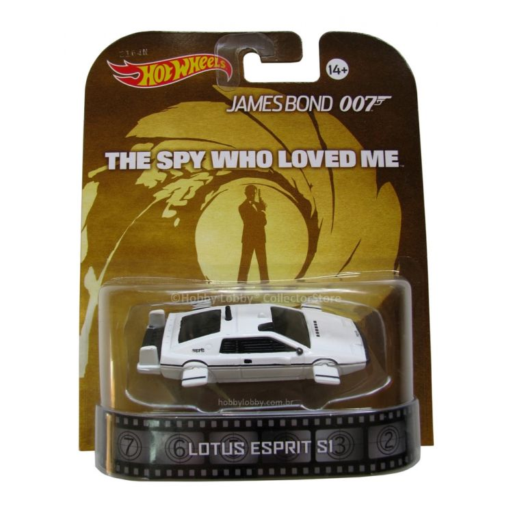 Hot Wheels - Retro Entertainment 2014 - James Bond - Lotus Espirit SI  - Hobby Lobby CollectorStore