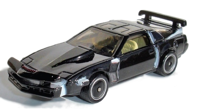 Hot Wheels - Retro Entertainment 2014 - Knight Rider -  K.I.T.T. Super Pursuit Mode - Hobby Lobby CollectorStore