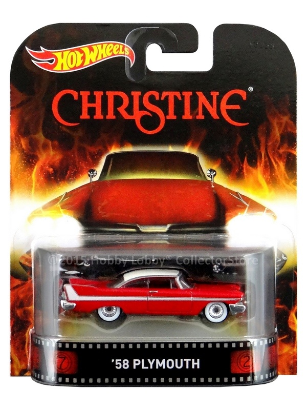 Hot Wheels - Retro Entertainment 2015 - Christine -  `58 Plymouth Belvedere