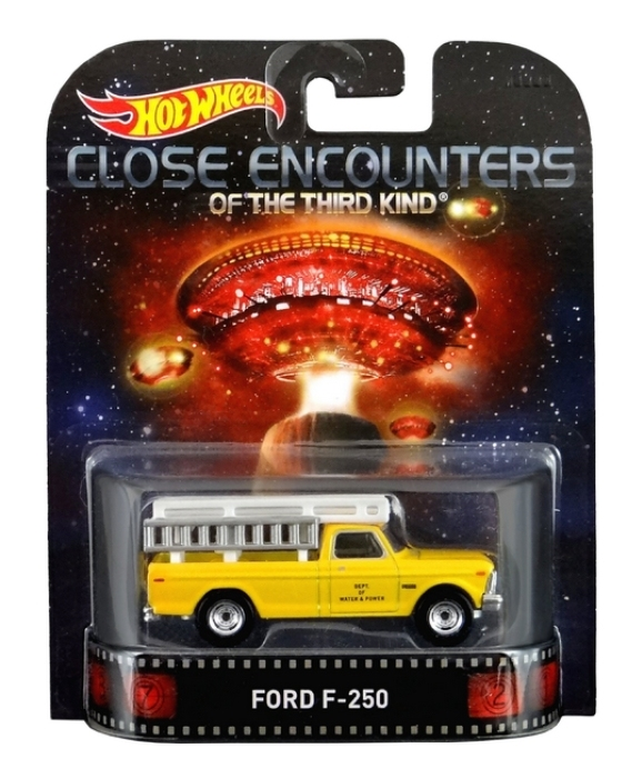 Hot Wheels - Retro Entertainment 2015 - Close Encounters of the Third Kind -  Ford F-250  - Hobby Lobby CollectorStore
