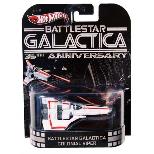 Hot Wheels - Retro Entertainment 2013 - Battlestar Galactica - Colonial Viper