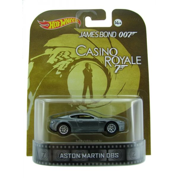 Hot Wheels - Retro Entertainment 2014 - James Bond - Aston Martin DBS