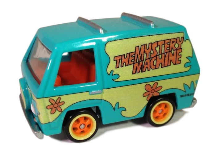 Hot Wheels - Retro Entertainment 2013 - Scooby Doo - The Mystery Machine  - Hobby Lobby CollectorStore