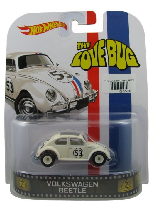 Hot Wheels - Retro Entertainment 2014 - The Love Bug - Volkswagen Beetle  - Hobby Lobby CollectorStore