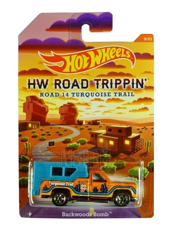 Hot Wheels - Road Trippin' - Backwoods Bomb