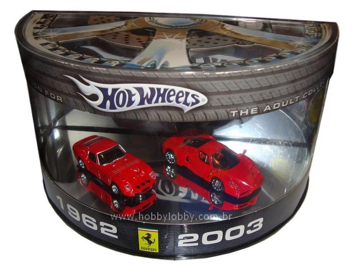 Hot Wheels - Set Ferrari - 1963 - 2003 - Comemorativa