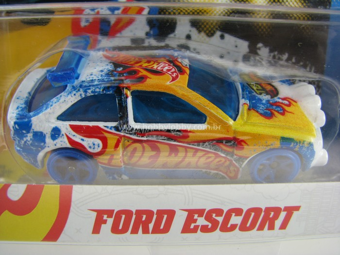 Hot Wheels - Team - Ford Escort  - Hobby Lobby CollectorStore
