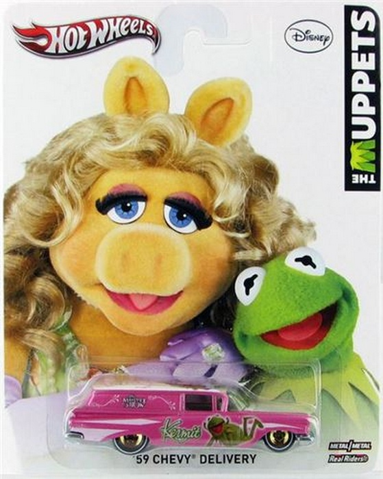 Hot Wheels - Culture Pop - The Muppets - ´59 Chevy Delivery