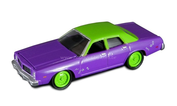 Johnny Lightning - Batman - 1977 Dodge Monaco (Carro do Coringa)