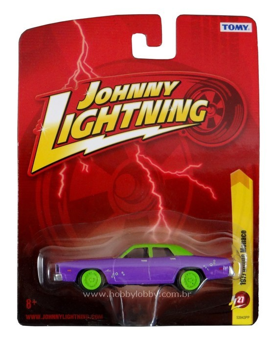 Johnny Lightning - Batman - 1977 Dodge Monaco (Carro do Coringa)  - Hobby Lobby CollectorStore