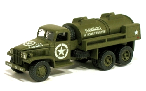 Johnny Lightning - Battle of the Bulge - WWII CCKW 6X6 GMC Tanker