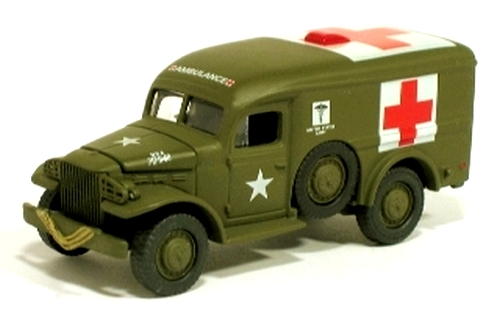Johnny Lightning - Battle of the Bulge - WWII WC54 Ambulance