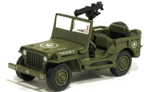 Johnny Lightning - Battle of the Bulge - WWII Willys MB Jeep  - Hobby Lobby CollectorStore