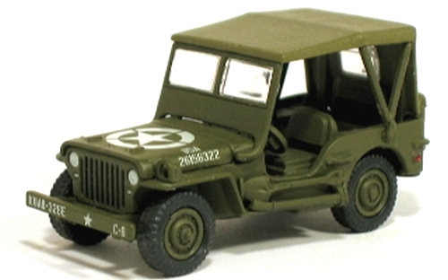 Johnny Lightning - Battle of the Bulge  - WWII Willys MB Jeep