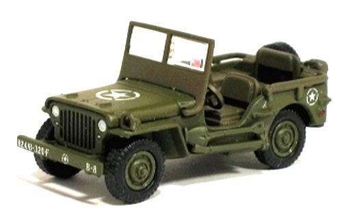 Johnny Lightning - D-Day - Invasion of Normandy - WWII Willys MB Jeep