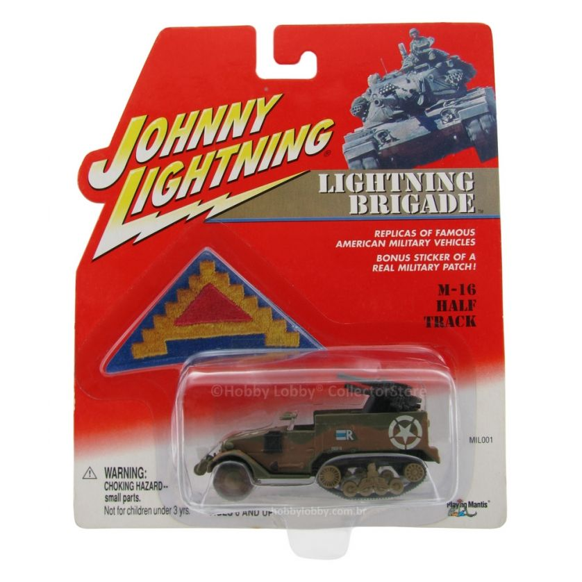 Johnny Lightning - Lightning Brigade - M-16 Half Track  - Hobby Lobby CollectorStore